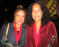Kasi Lemmons and Gina Prince-Bythewood