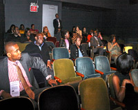 Audience at Tribeca screening